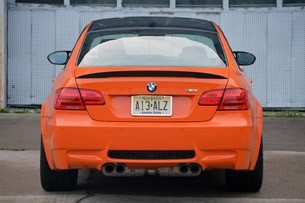 2013 BMW M3 Coupe Lime Rock Edition rear view