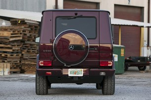 2013 Mercedes-Benz G550 rear view
