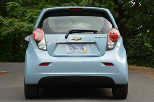 2014 Chevrolet Spark EV rear view