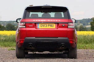 2014 Range Rover Sport rear view