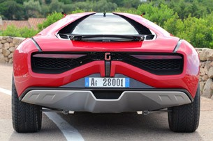 Italdesign Giugiaro Parcour Concept rear view