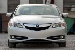 2013 Acura ILX Hybrid front view