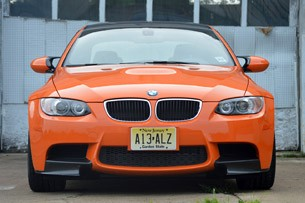 2013 BMW M3 Coupe Lime Rock Edition front view