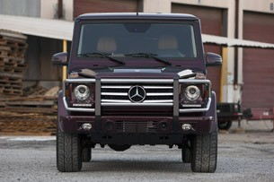 2013 Mercedes-Benz G550 front view