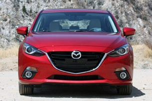 2014 Mazda3 front view