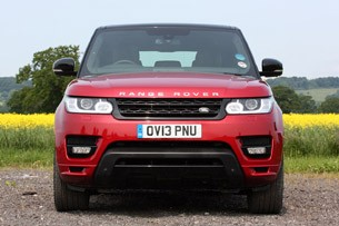 2014 Range Rover Sport front view
