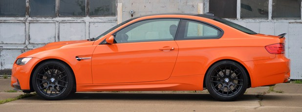 2013 BMW M3 Coupe Lime Rock Edition side view
