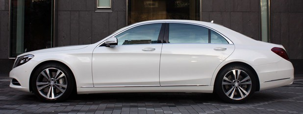 2014 Mercedes-Benz S-Class side view