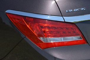 2014 Buick LaCrosse taillights