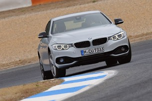 2014 BMW 4 Series driving