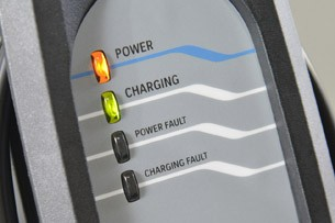 2014 BMW i3 charge display