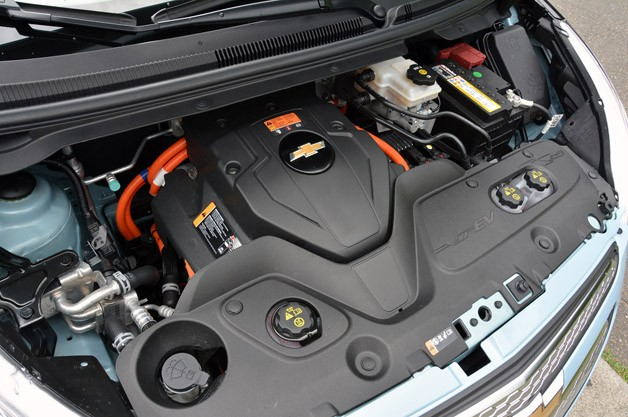 2014 Chevrolet Spark EV electric motor