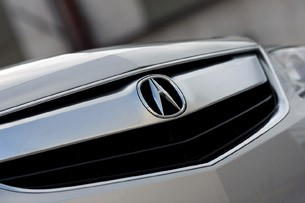 2013 Acura ILX Hybrid grille