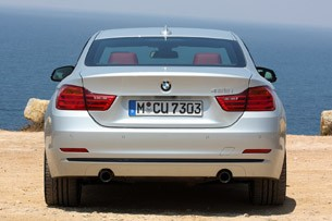 2014 BMW 4 Series rear view
