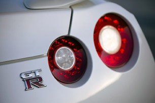 2014 Nissan GT-R taillights
