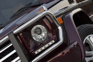 2013 Mercedes-Benz G550 headlight