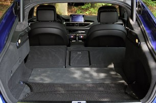 2014 Audi RS7 rear cargo area