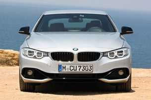 2014 BMW 4 Series front view