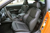 2013 BMW M3 Coupe Lime Rock Edition front seats