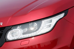 2014 Range Rover Sport headlight