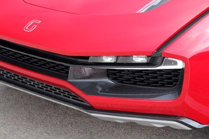 Italdesign Giugiaro Parcour Concept headlight