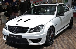 2014 Mercedes-Benz C63 AMG Edition 507 - front three-quarter view