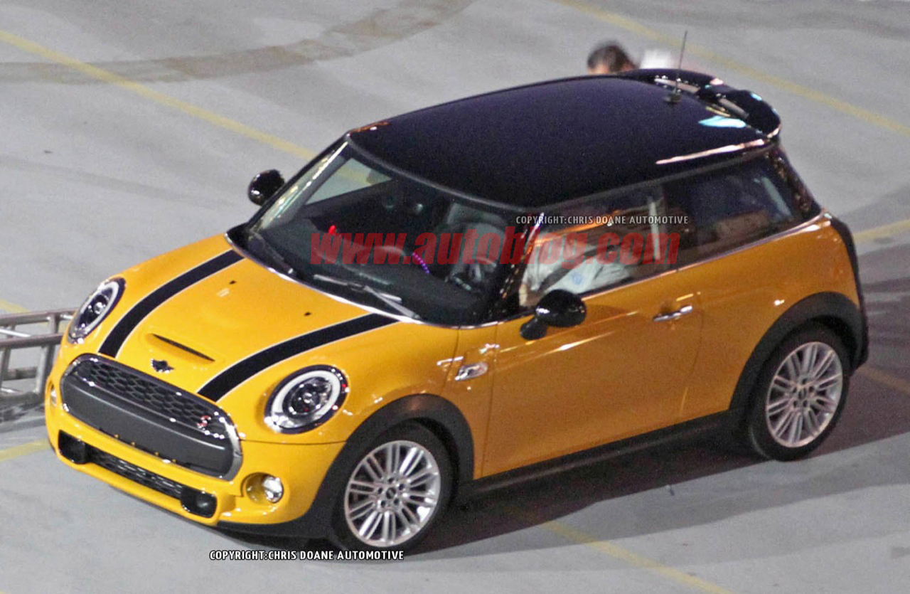 Used Mini Coopers >> 2014 Mini Cooper: Spy Shots Photo Gallery - Autoblog