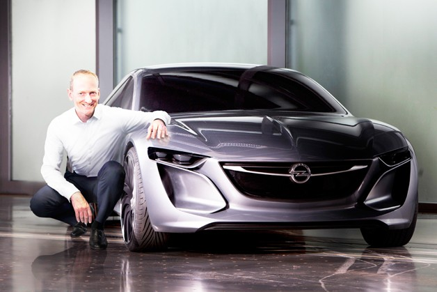Opel Monza concept with GM executive