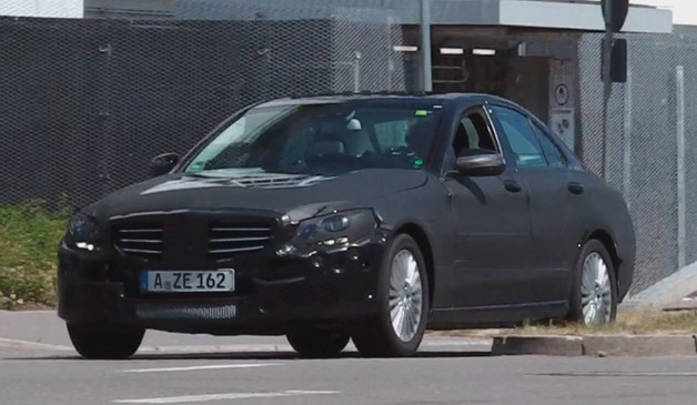 Mercedes-Benz C-Class Spy Video
