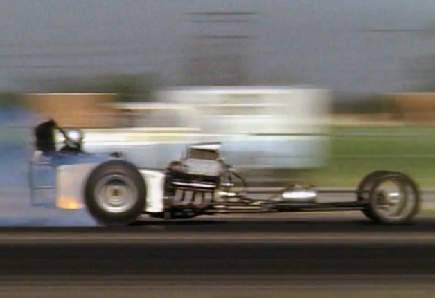 Dragster on a run in Snake & Mongoose.