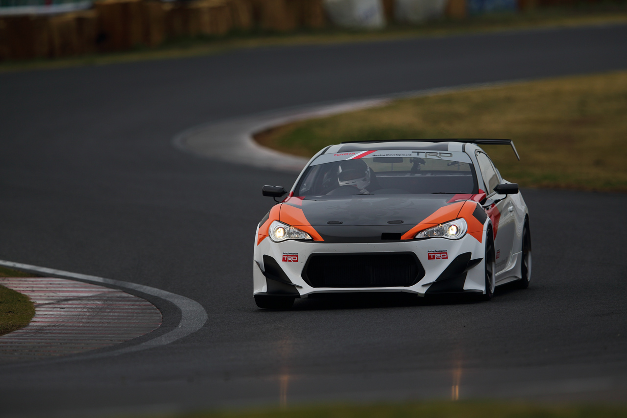 Toyota Brings Trd Griffon Gt86 To Goodwood W Video