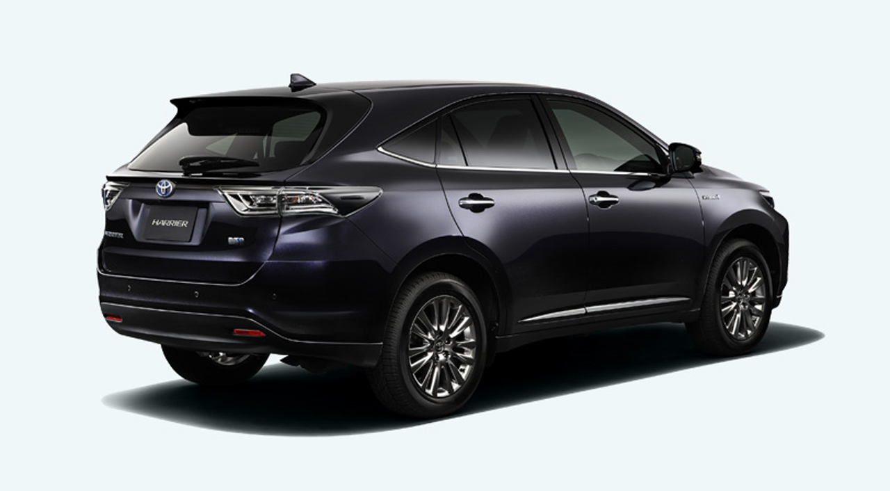 Toyota harrier new car price malaysia