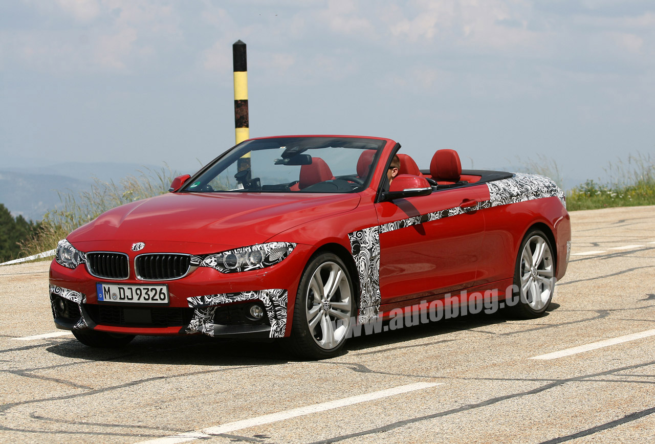 bmw 4 series convertible basks in the sun autoblog. Black Bedroom Furniture Sets. Home Design Ideas