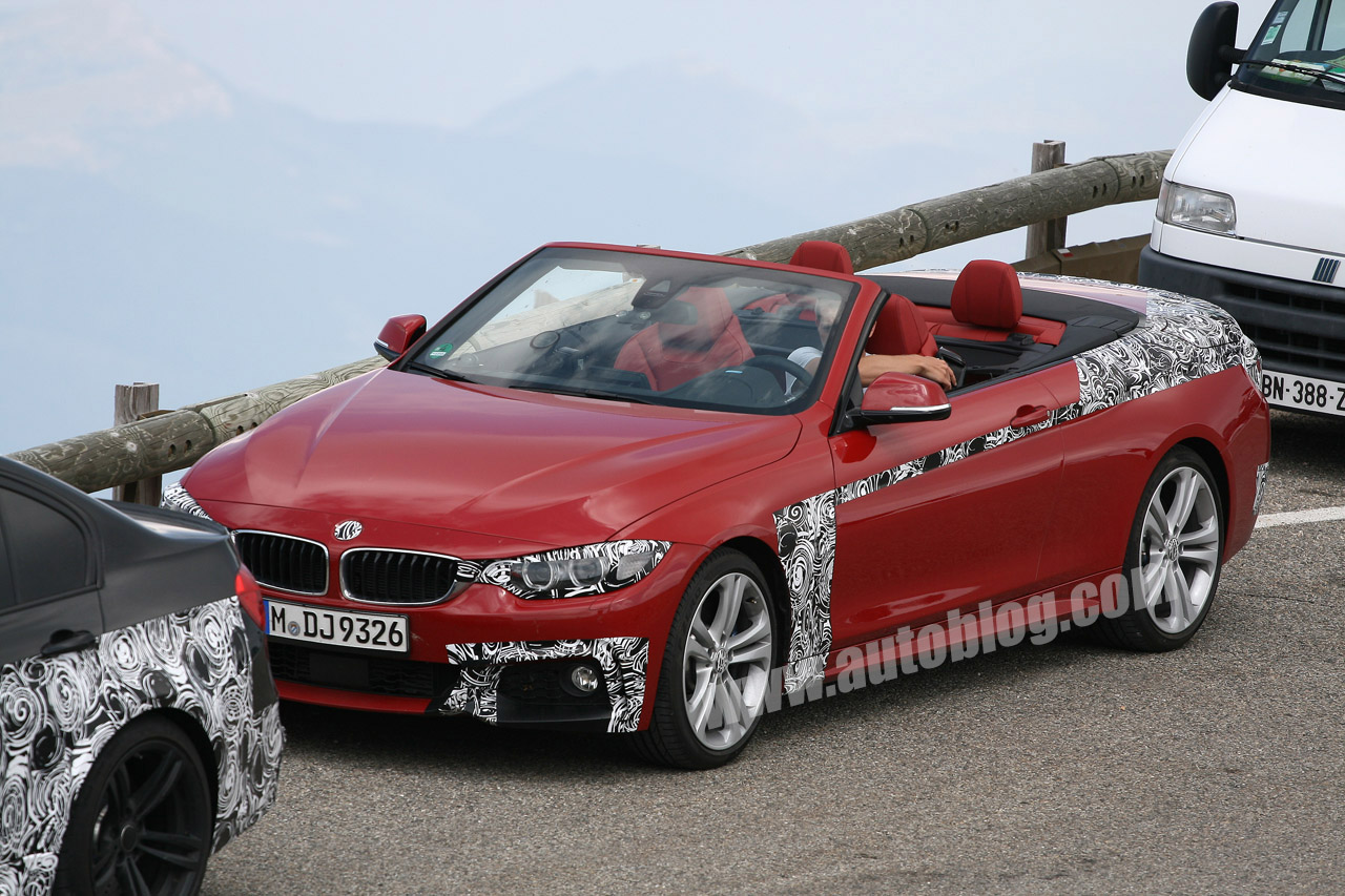 bmw 4 series convertible basks in the sun   autoblog