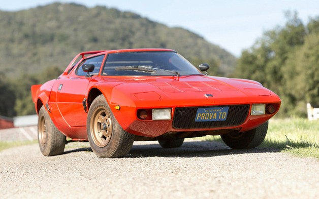 1972 Lancia Stratos barn find front three-quarters