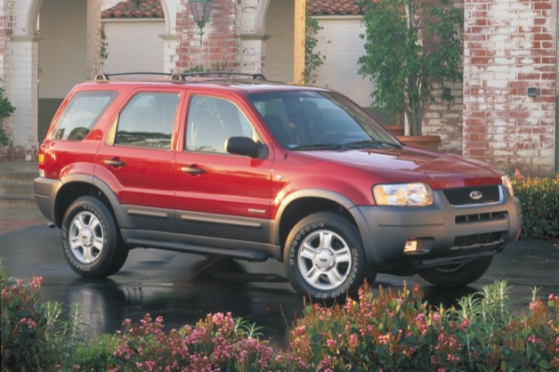 First-Generation Ford Escape front three-quarter