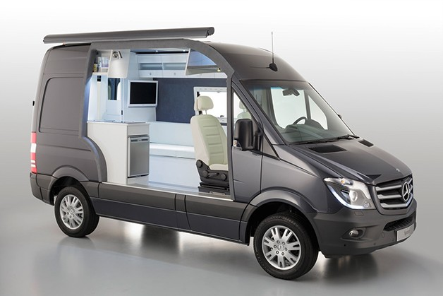 mercedes benz classes up camper market with sprinter caravan concept. Cars Review. Best American Auto & Cars Review