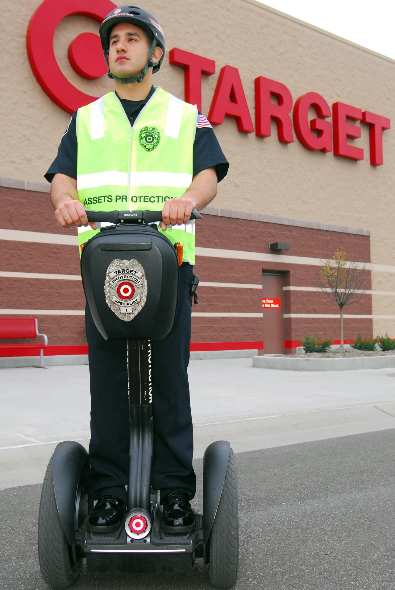 target security officer riding a segway photo gallery