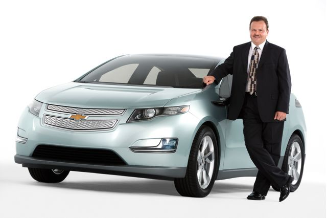 tony posawatz with chevy volt