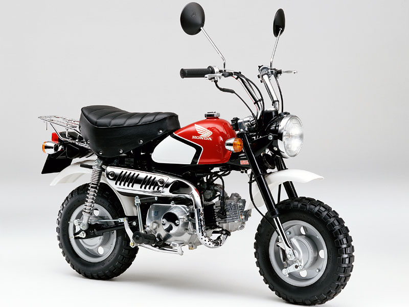 honda gorilla monkey bike car interior design. Black Bedroom Furniture Sets. Home Design Ideas