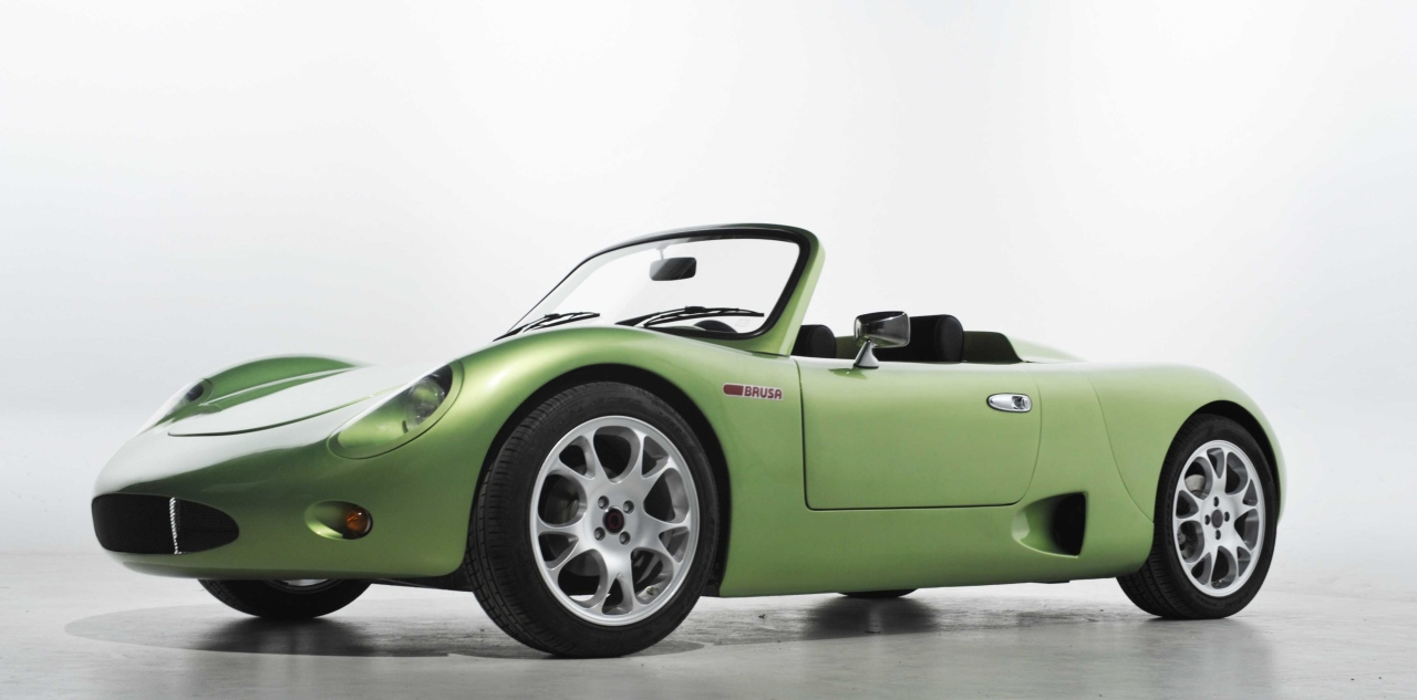 BRUSA's Spyder electric sportscar