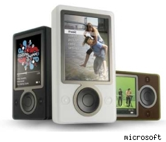 microsoft's zune unveiled today