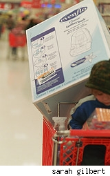 my son everett and my shopping at target