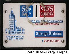 Chicago Tribune, 50 cents daily, $1.75 on Sunday