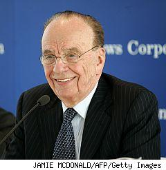 Chairman and CEO of News Corporation Rupert Murdoch