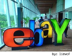 eBay hits 7 year low