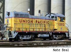 Union Pacific (UNP) train engine
