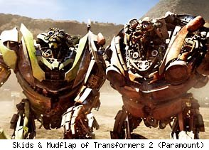 Skids and Mudflap of Transformers: Revenge of the Fallen
