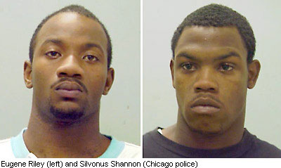Eugene Riley and Silvonus Shannon were charged with beating Derrion Albert