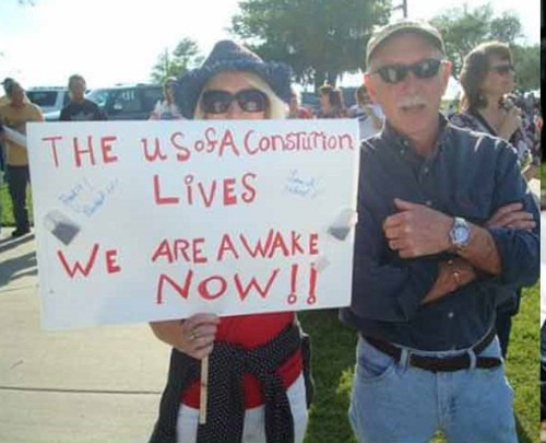 4468907087 d4af9a963e TEABONICS: A Look at the Creative and Often Misspelled Signs of the Tea Party Protesters
